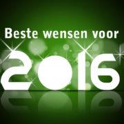 Beste wensen voor 2016